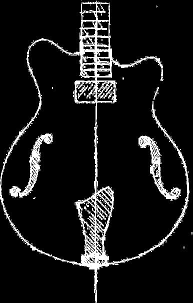 Gitarren Skizze