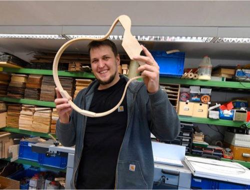 David Jüngers gefragte Gitarren